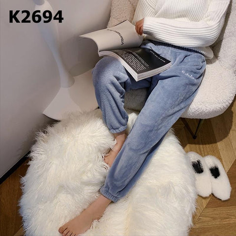 "K2694 ""Momo"" (fur) pants"