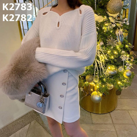 K2783 Hollow sweater