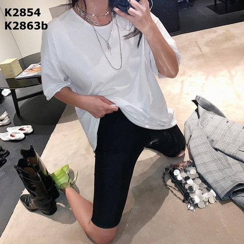 K2863b Knee length leggings