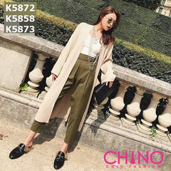 K5873 Puff long pants