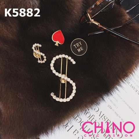 K5882 (one set) $$ brooch