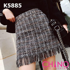 K5885 Tweed skirt