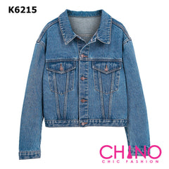 K6215 Blue denim jacket