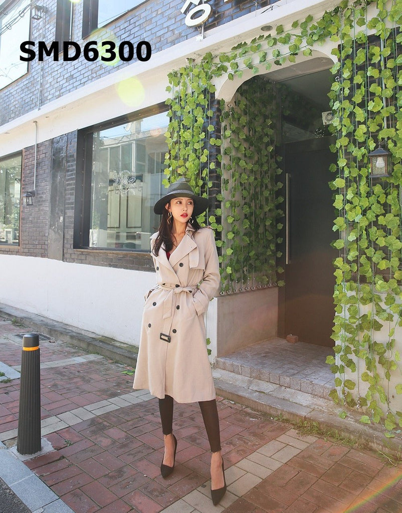 SMD6300 Long trench coat