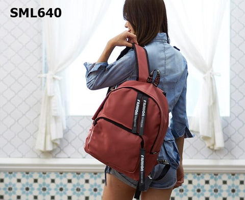 "SML640 ""Fashion"" strap backpack"