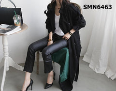 SMN6463 Long trench coat