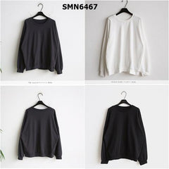 SMN6467 Plain sweatshirt
