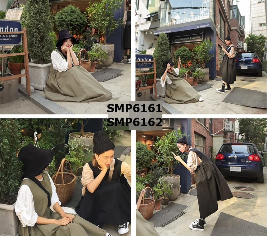 SMP6162 Very loose vest dress