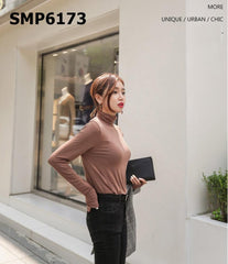 SMP6173 Turtle neck tee