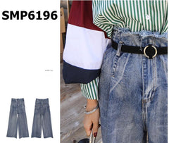 SMP6196 Blue high rise jeans