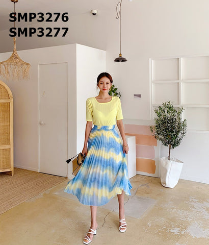 SMT3277 Tied dyed skirt