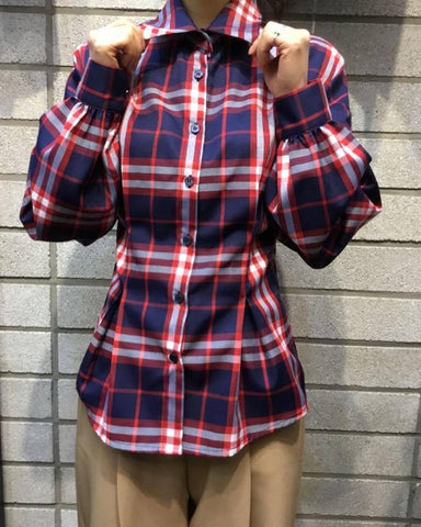 SY2257	red check shirt