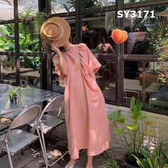SY3171 Peach dress