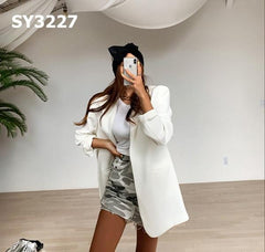 SY3227 White jacket