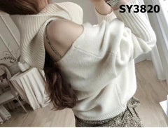 SY3820 (two styled) turtle neck sweater