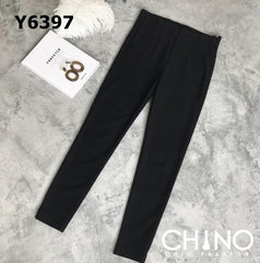 Y6397 Black tight pants