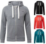 TOM TAILOR Denim Herren Sweatshirt Hoodyjacke aus Sweat Kapuzenpulli Zip NEU - Jack & Jones