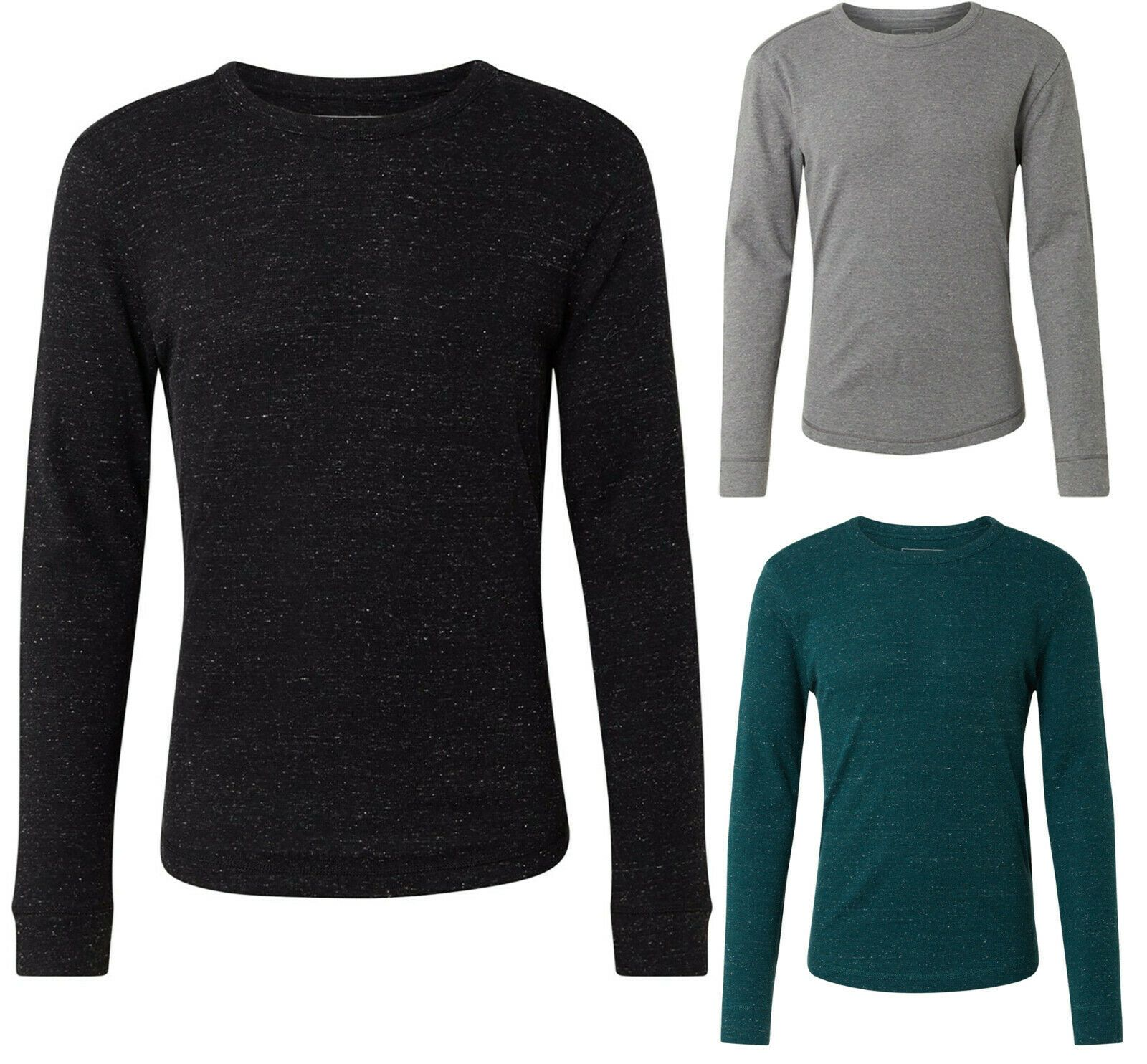 TOM TAILOR DENIM T-Shirts/Tops Langarmshirt mit Rundhalsausschnitt 1014541 - Jack & Jones