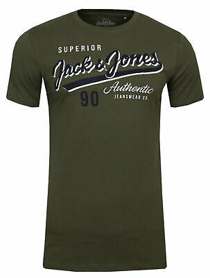 Jack & Jones NOS Herren Logo Tee Crew Neck T-Shirt Brustprint - Jack & Jones