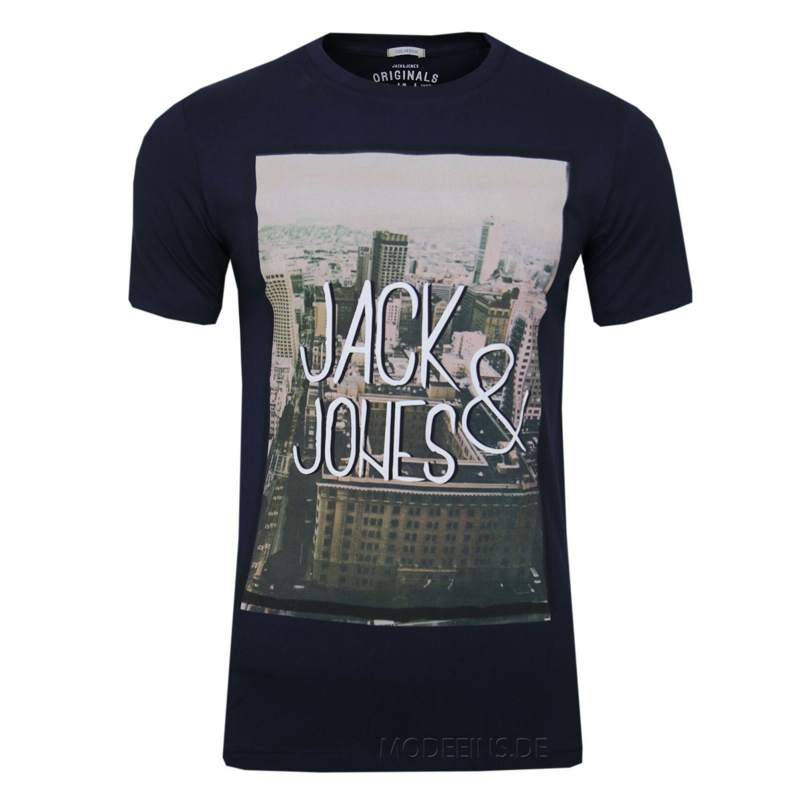 JACK & JONES HERREN T-SHIRT Gr.S,M,L,XL,XXL - Jack & Jones