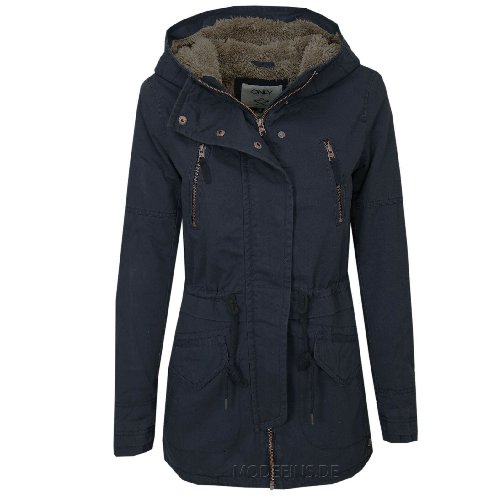 ONLY LEEONA LEINEN- PARKA - Jack & Jones