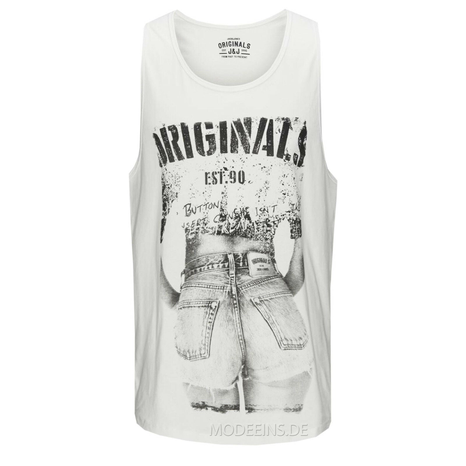 JACK & JONES HOTLINE TANK TOP Gr.S,M,L,XL