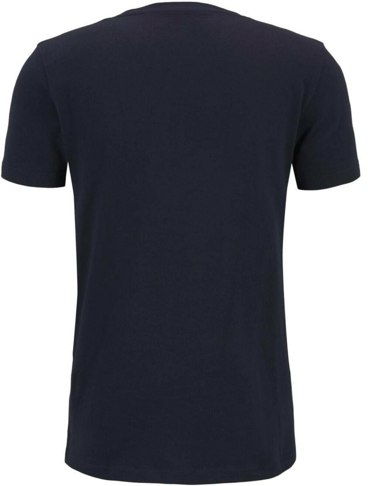 TOM TAILOR DENIM Basic Strukturiertes T-shirt mit Brusttasche