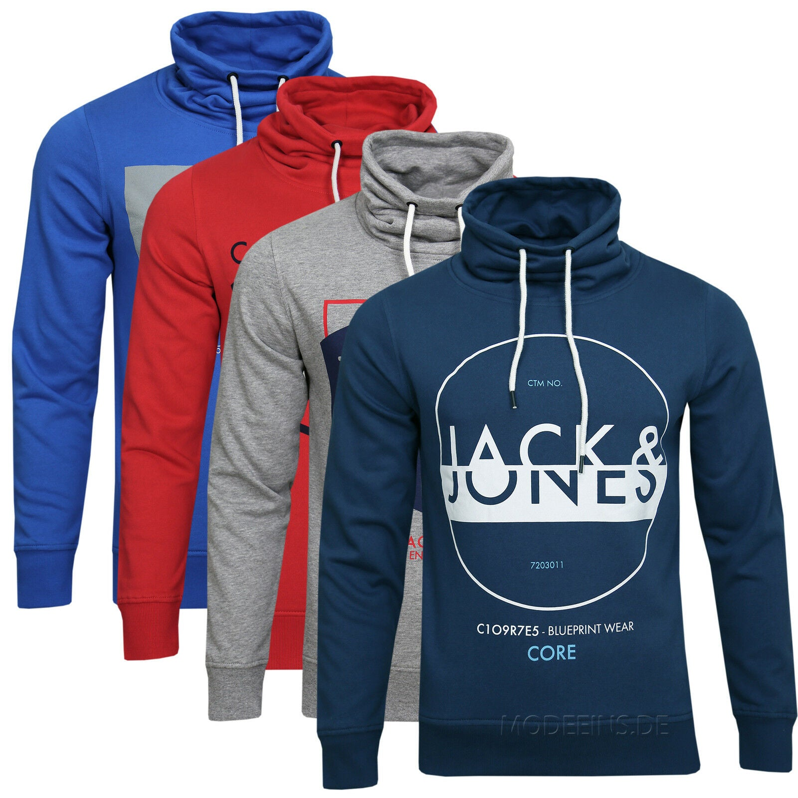 JACK & JONES NEW MONIKA SWEAT HIGH NECK Gr.S,M,L,XL