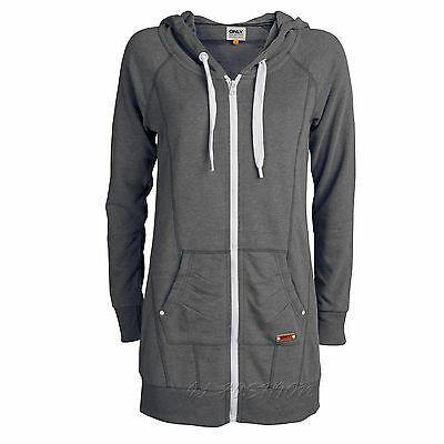 ONLY Damen Birdie Long Sweat  Zip Hoodie Gr.XS,S,M,L,XL - modeeins.de