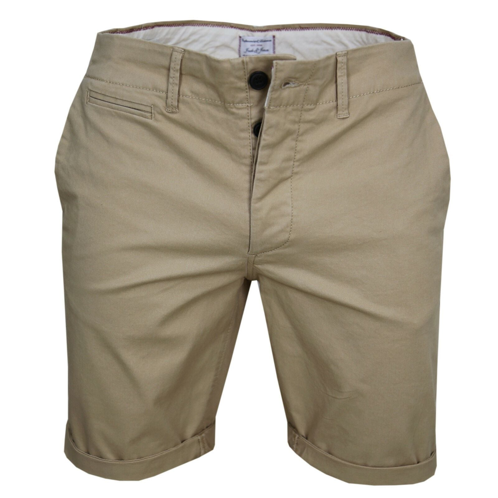 Jack & Jones Herren Chino Shorts Chinohose Chinos Bermudas Farb Mix Neu - Jack & Jones