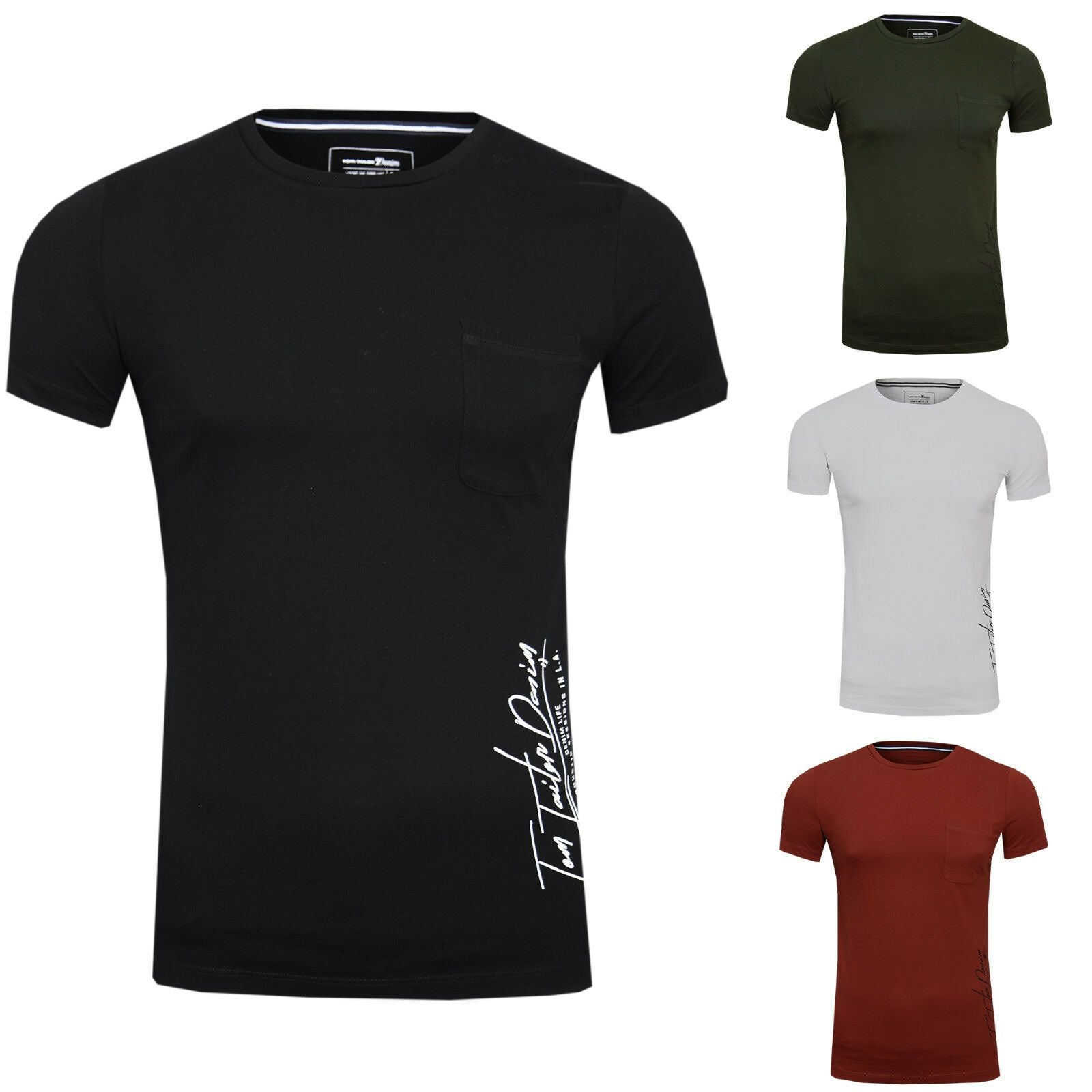 TOM TAILOR Denim T-Shirts/Tops T-Shirt mit Seitlichem Print - Jack & Jones