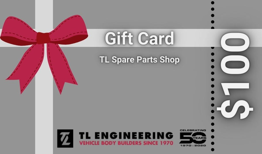 TL Spare Parts Gift Cards - Show someone you love them!