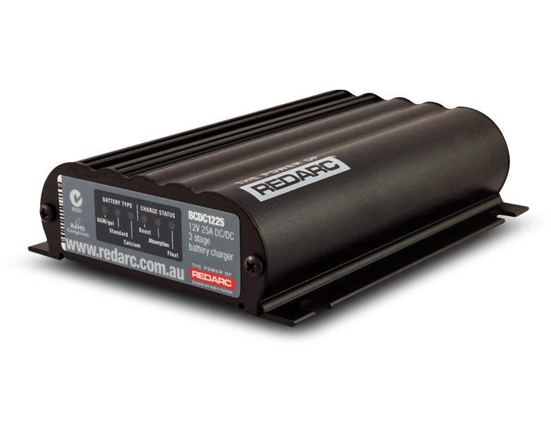 DUAL INPUT 25A IN-VEHICLE DC BATTERY CHARGER