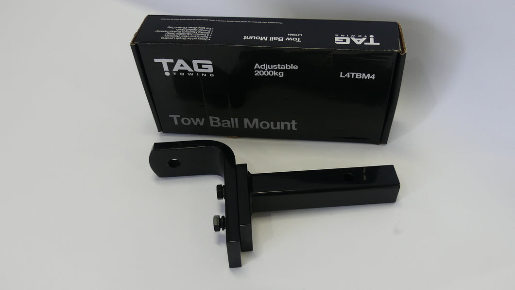 TAG Adjustable 2000kg Tow Ball Mount