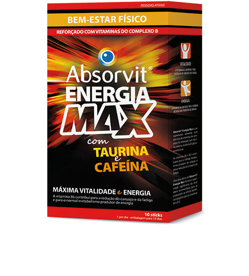 Absorvit@ Energia Max Sticks x10