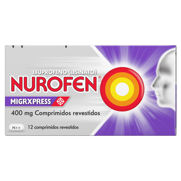 Nurofen Migrxpress, 400 mg x 12 comp rev