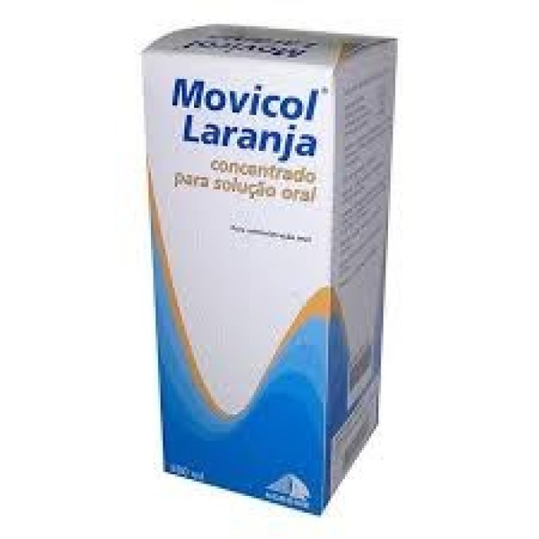 Movicol Laranja, 500 mL x 1 conc p/sol oral