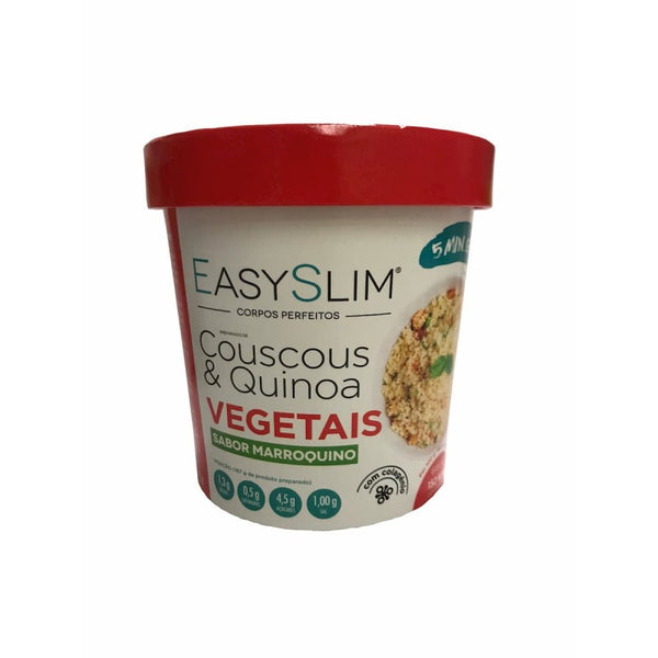 Couscous Quinoa Vegetais Marroquino 47g, Easy Slim - Farmácia Garcia