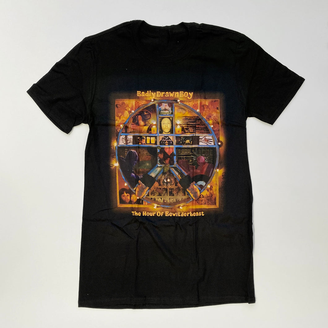 Bewilderbeast - Tour T-shirt (S only) | Badly Drawn Boy Official Store