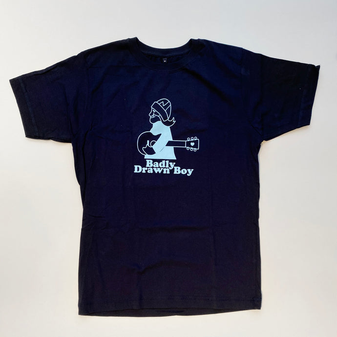 Cartoon T-shirt - Navy (Kid's) | Badly Drawn Boy Official Store