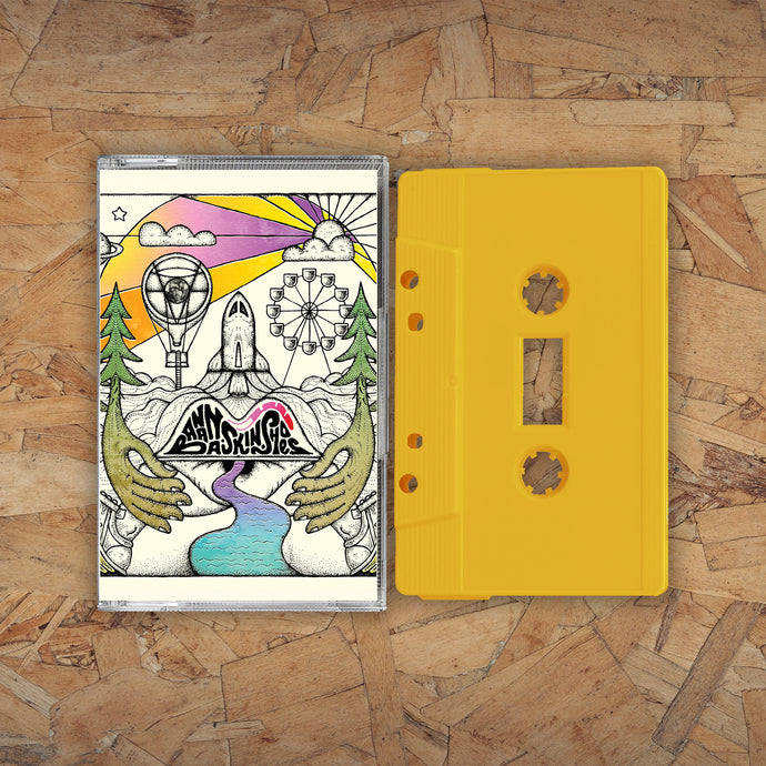 Banana Skin Shoes - Yellow Cassette | Badly Drawn Boy Official Store