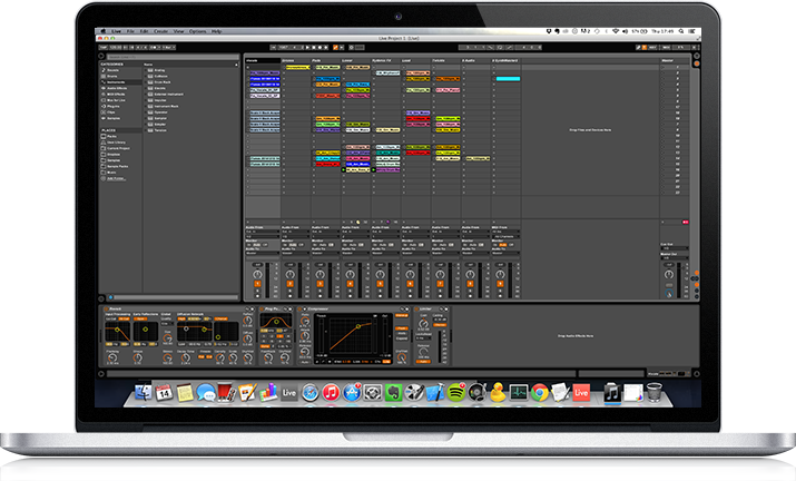 Sound editing in MacBook Pro