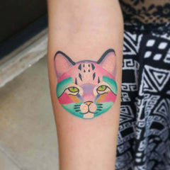 22 Cool Tattoos That A Cat Lover Would Go Crazy About