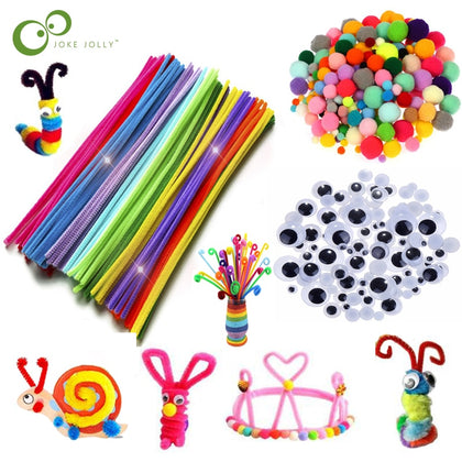 Assorted Craft materials for child learning