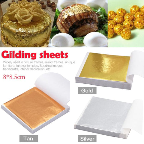 100pcs gilding sheets