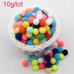 Mixed Color Mini pompom 8-30mm 20g