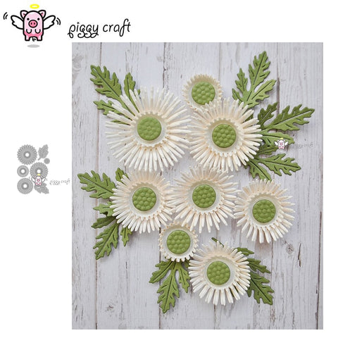 7pcs flower cutting die