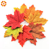 Artificial Large Autumn Maple leaves 100pcs