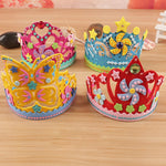 Foam Paper Crowns multi-patterned