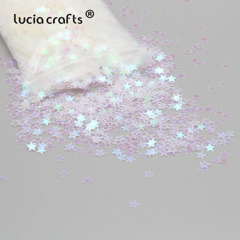 White Star loose sequins 4mm 20g